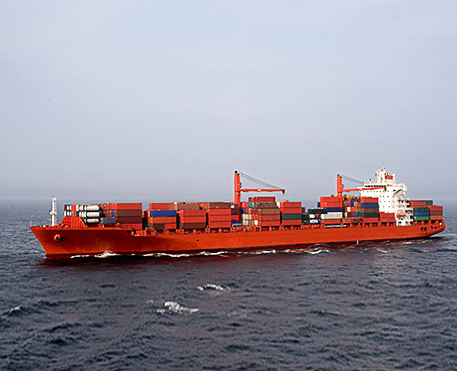 Red Oil Barge